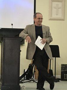 Pastor teaches